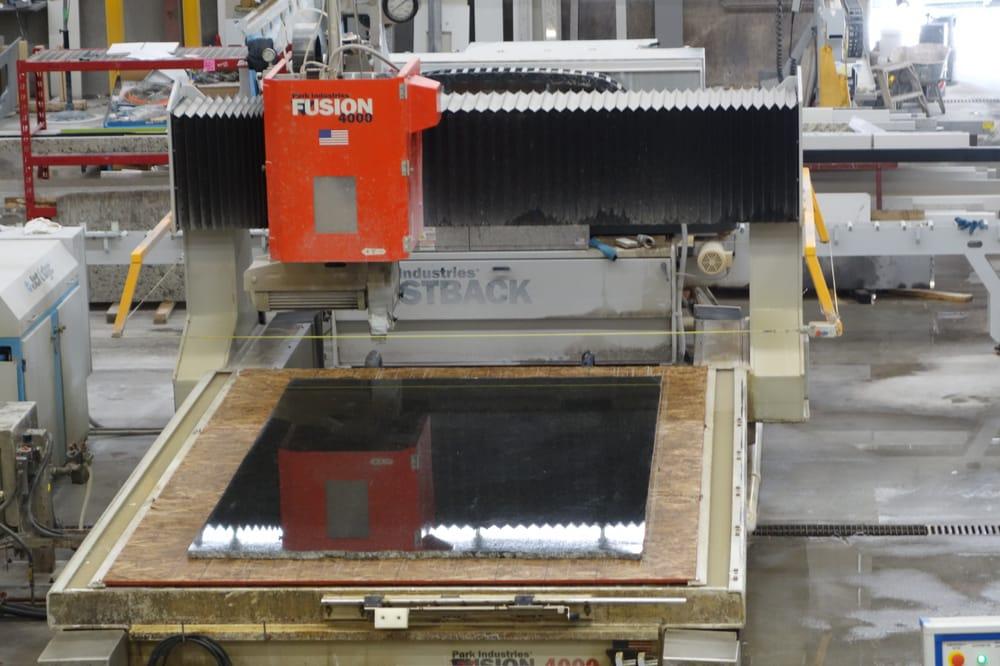 ATT Stoneworks CNC Technology Fusion Machine with stone 4000