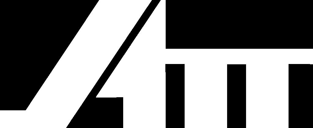 ATT white logo with transparent background