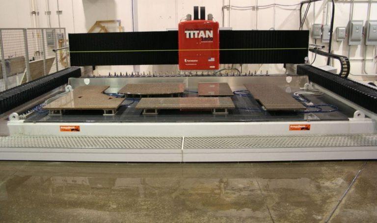ATT Stoneworks CNC Technology Titan Machine Different Stone Shapes