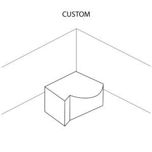 Custom Shaped Countertop