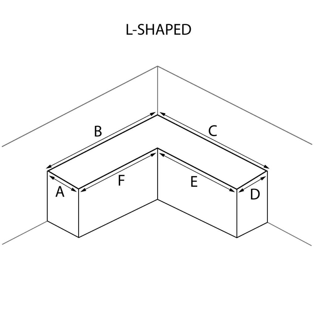 L-Shaped Countertop