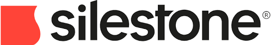 Silestone horizontal colour logo with white background