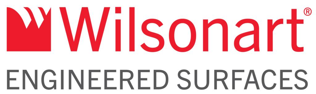 Wilsonart Engineered Surfaces horizontal colour logo with white background