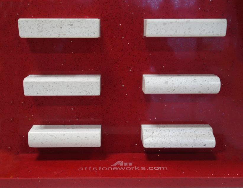 ATT Stoneworks Edge Profiles Sample Display